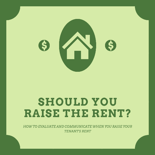 Should you raise the rent on your tenants?